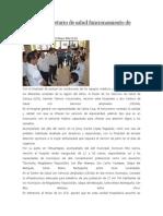 22/05/14 Newsoaxaca Supervisa Secretario de Salud Funcionamiento de Hospitales