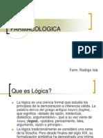 LOGICA farmacologica - REDVENEO