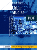 Urban Studies Uk 2009