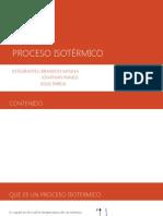 Proceso Isotérmico