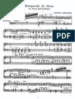 Gershwin Rhapsody in Blue(for Two Hands)