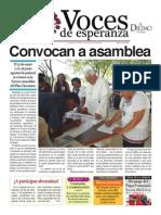 Voces de Esperanza 01 de junio de 2014
