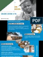 Progetto Mozambico Onlus - bilancio 2009