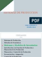 Sistemas de Produccion Unidad III - 2014-1