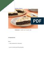 Receita de Torta de Brownie