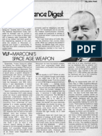VLF -- MARCONI'S SPACE-AGE WEAPON, by John A. Keel