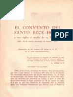 El Convento Del Santo Ecce-Homo