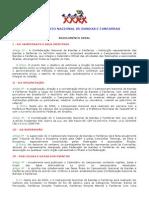 10º Campeonato Nacional - 2002 - Regulamento