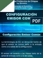 Configuración en Emisor Común