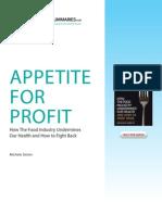 Appetite for Profit, Michele Simon