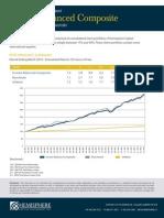 Income Balanced Composite - 1QTR 2014