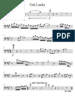 Get Lucky - Trombone