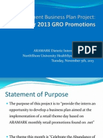 management business plan project