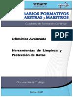 1 Herramientas de Limpieza y Protección de Datos