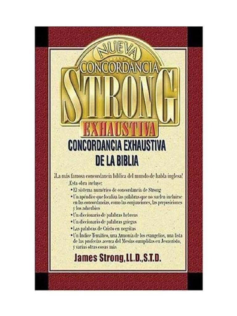 a975c4cd30 Dicionário Bíblico Strong - Léxico Hebraico, Aramaico e Grego de Strong -  James Strong