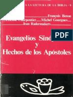 Auneau, Joseph (Varios) - Evangelios Sinopticos y Hechos de Los Apostoles