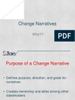 Change Narratives Introduction