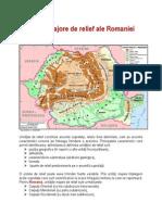 Unitati Majore de Relief Ale Romaniei