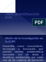 Lineas de Investigacion