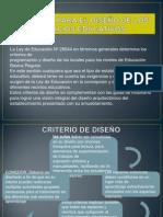 Criterios Para El Diseño de Los Espacios Educativos