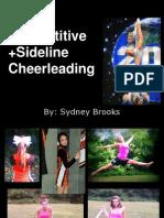 competitive cheerleading 1