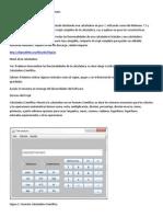 Calculadora Científica en Java 7