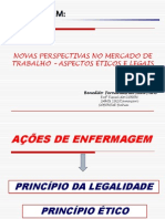 Aspectos Etico e Legal Feridas