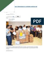 29/05/14 enlacelacosta SSO dota de equipos odontológicos a unidades médicas del istmo