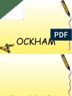 GUILLERMO OCKHAM