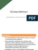 Introdução a Analise de Circuitos I