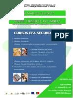 Cartaz EFA Secundario