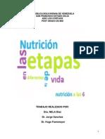 Alimentacion y Nutricion en Etapas de La Vida