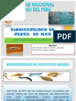 Biodiversidad de Peces