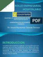 Desarrollo Empresarial Hospitalario Arturo Talamas Terrazas