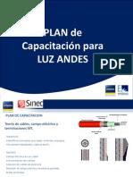 Capacitación - Plan de Capacitacion Luz Andes
