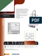 Powerteam PE17 Catalog Page