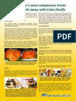 Cebu Pac Mindanao Food Tips