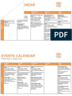 Stay Smart Online Events Calendar Website