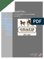 Coach Case Analysis