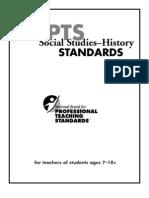 Social Studies Standard