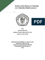 Audit Investigatif Dengan Teknik Audit Dan Perpajakan