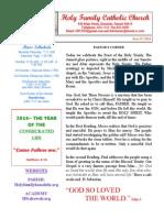 hfc june 15 2014 bulletin