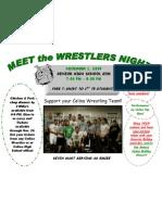 Wrestling Flyer 1
