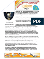 The 2014 8K Walk-A-Thon Press Release