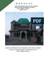 Proposal Masjid Jami Bulian
