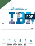 Ibm 1467 the Mdm Advantage