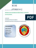 Informe Laboratorio 2 Identificacion de Peligro