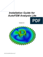 Installation Guide for AutoFEM Lite