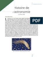 Histoire de l'astronomie médiévale islamique et occidentale