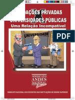 Fundaçoes Privadas x Universidades Públicas- uma relaçao incompativel